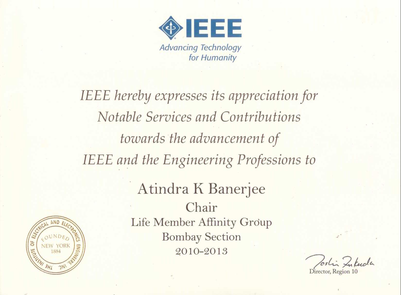 Ieee bombay section volunteer recognition awards volunteer recognition awards xflitez Gallery
